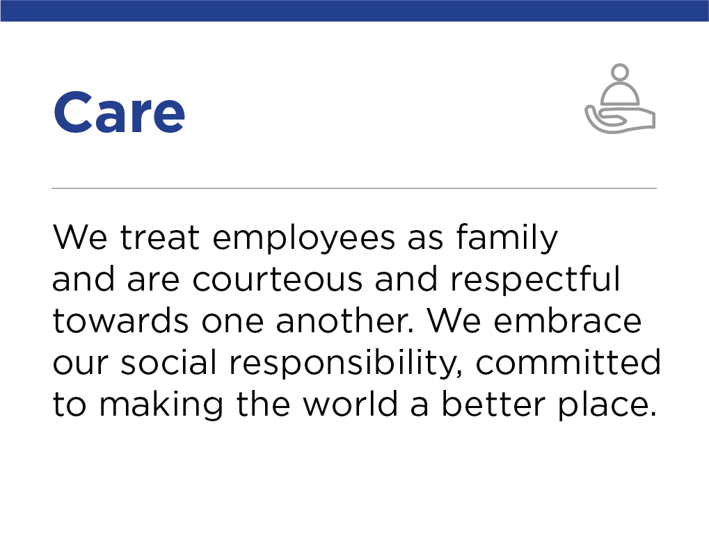 Our Values Care, Crescent Petroleum