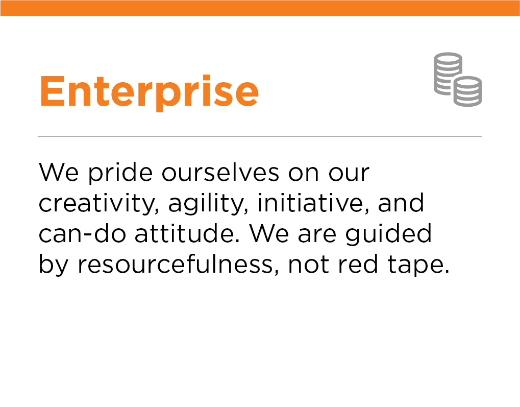 Our Values, Enterprise, Crescent Petroleum