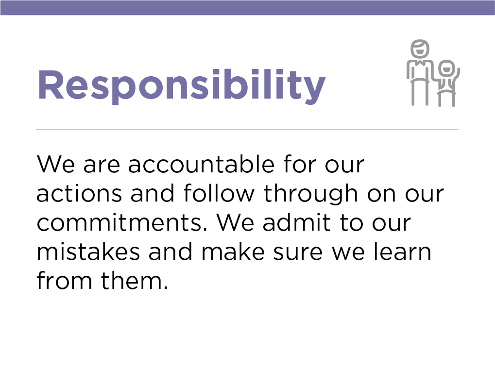 Our Values, Responsibility, Crescent Petroleum
