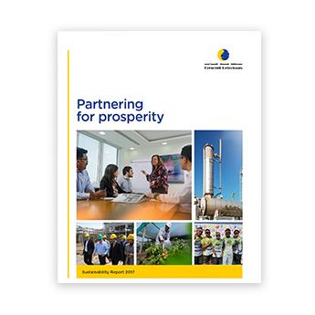 Sustainability Report 2017 Crescent Petroleum
